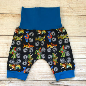 Monster Trucks Bunny Bottom Shorts