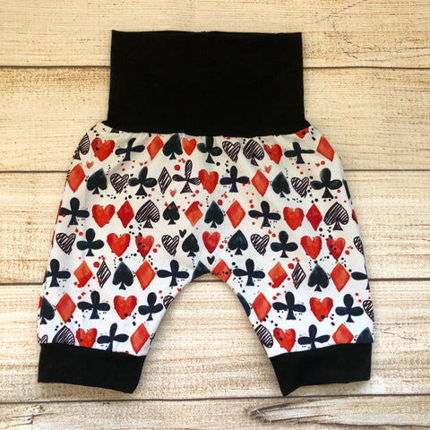Card Suits Bunny Bottom Shorts
