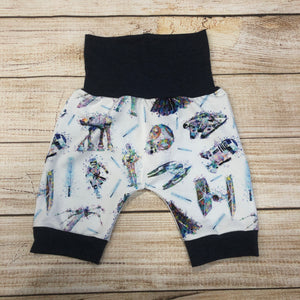 Watercolour Wars Bunny Bottom Shorts