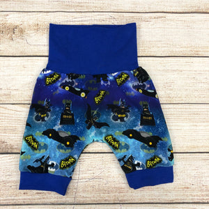 Bat Block Hero Bunny Bottom Shorts 3-12 month