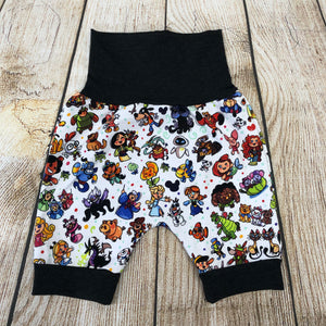 Jelly Pen Bunny Bottom Shorts 3-12m