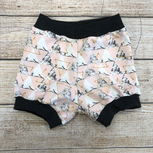 Dusty Rose Triangles Bloomers