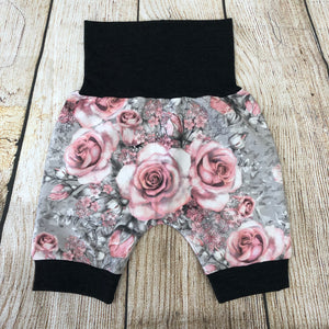 Watercolour Blossom Bunny Bottom Shorts