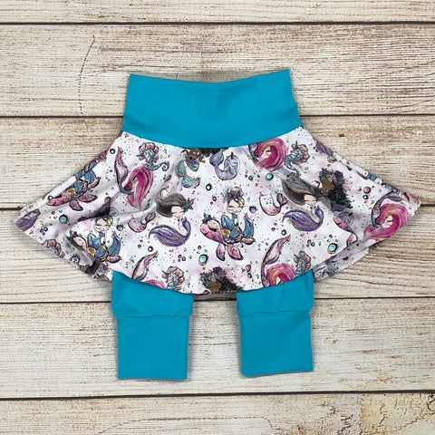 Mermaid Twirl Shorts