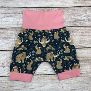 Floral Mammoth Bunny Bottom Shorts