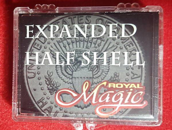 Expanded Half Shell (Struck) - Magic Tricks works perfect over your real half!.