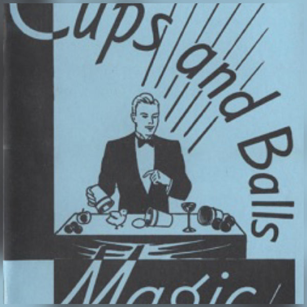 Cups and Balls - Aluminum - Small plus book by Tom Osborne