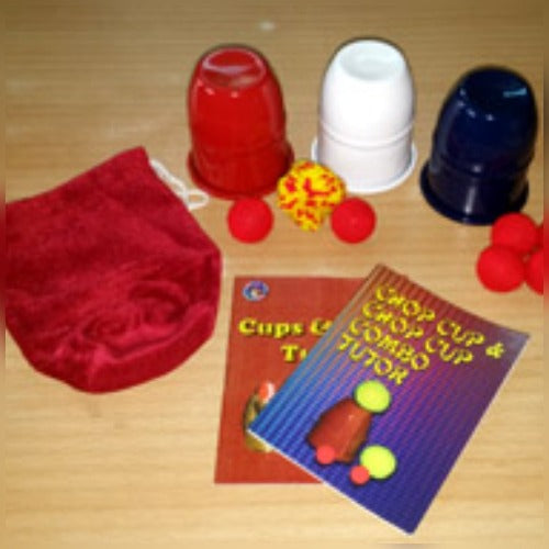 Chop Cup Combo Outfit - Aluminum - Red, White, Blue