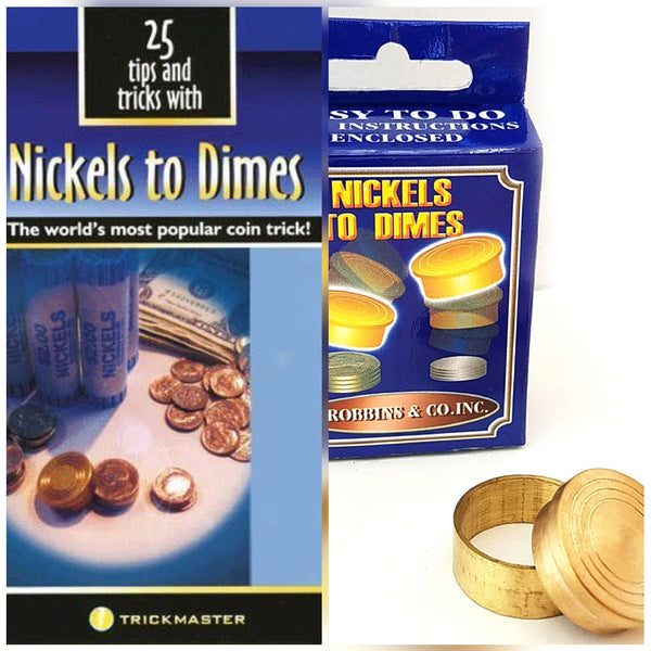Nickels to Dimes plus Book of 25 tricks