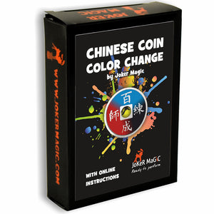 Joker Magic Chinese Coin Color Change