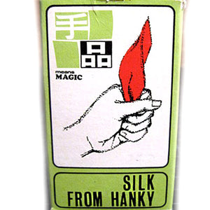 Silk from Hanky T-10 by Tenyo Magic Co