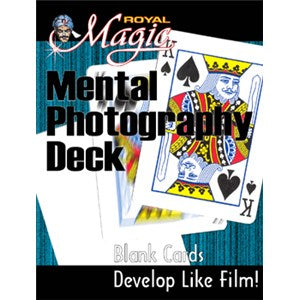 Mental Photography Deck-blank deck,  Bicycle brand