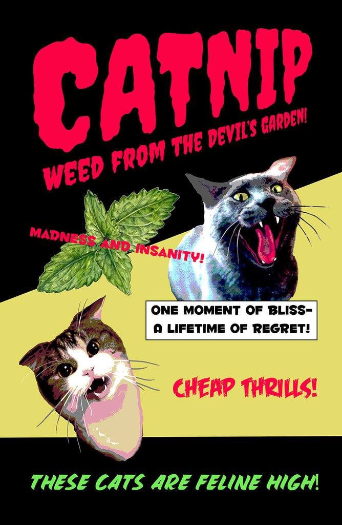 """Weed From The Devil's Garden"" - Skinny Pete's Gourmet Catnip"