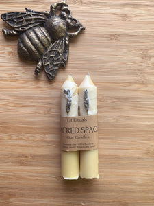 'Sacred Space' Altar Candles