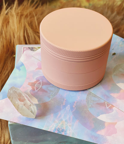 'I am so adorable' Pink Matte Herb Grinder