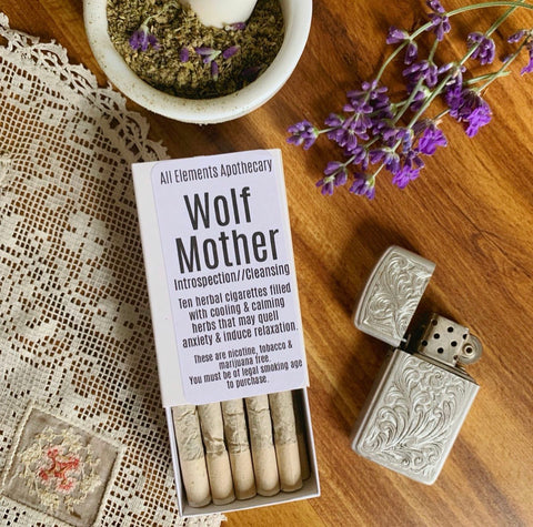 """Wolf Mother"" Herbal Cigarettes"