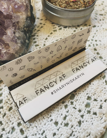 'Fancy AF' Natural Rolling Papers