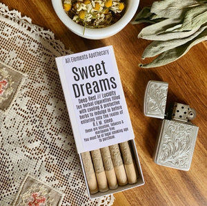 """Sweet Dreams"" Herbal Cigarettes"