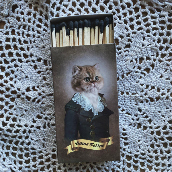 Regal Cats - Large Matchbox