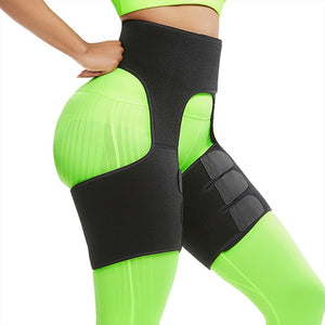 VOGUISH Slim Thigh Trimmer Leg Shapers Slender Slimming Belt Neoprene Sweat Shapewear Toned Muscles Band Thigh Slimmer Wraps