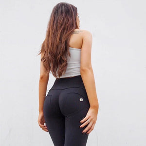 Melody High Waisted Back Legings Skinny Gym Jeggings Seamless  Bum Lift Shapewear  Workout Plus Size Straight Leg Legging