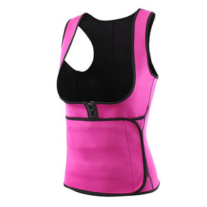 Sports Shapewear High Compression Workout Yoga Tummy Control Waist Trainer Cincher Adjustable Weight Loss Women Vest Corset