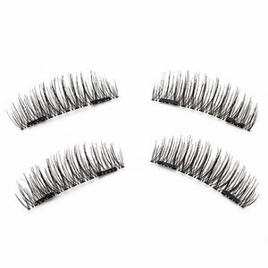 Magnetic False Eyelashes Glueless Ultra-thin Fake Eyelashes for Natural Make-up Look | FajasShapewear.com
