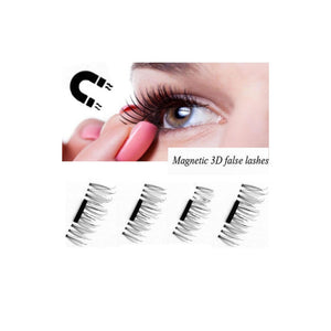 2 Pair Creative Magnetic 3D False Eyelashes Natural Soft Fake Eyelashes for Women Girls Makeup | FajasShapewear.com