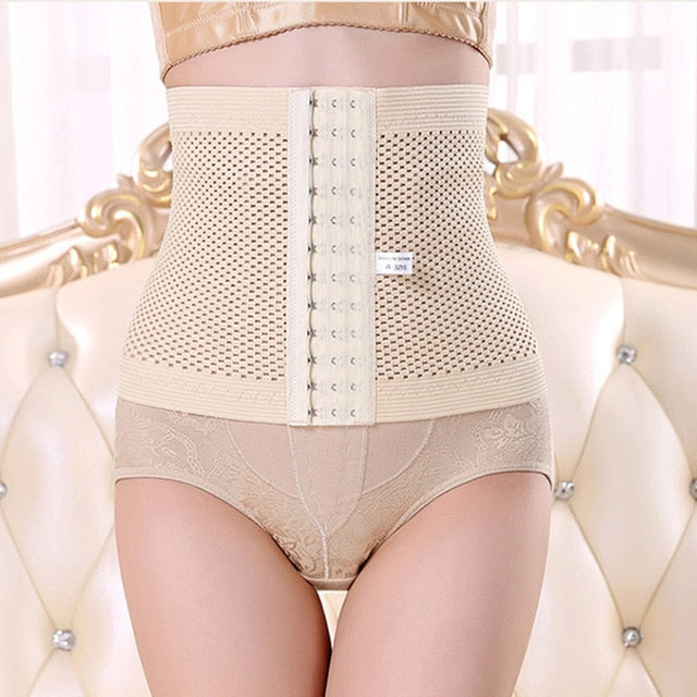 Women Maternity Body Shaper 13 buckle lady abdomen belly pregnant women postpartum beam belly body sculpting belt shapewear