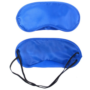1PC New Pure Silk Sleep Eye Mask Padded Shade Cover Travel Relax Aid | FajasShapewear.com