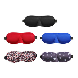 Sponge Eyeshade Sleeping Eye Mask Cover Eyepatch Blindfolds Shield Sleep Goggles Slow Rebound Earplug For Flight Travel Office