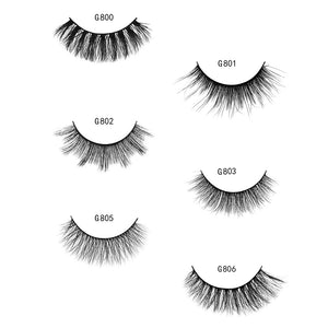 5 Pair 3D Mink Eyelash Extension Mink Eyelash Lash Strips Makeup Kit Dense Thick Fake Eyelash | FajasShapewear.com