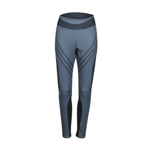 Women Sports Gym Yoga Workout Mid Waist Running Pants Fitness Elastic Leggings