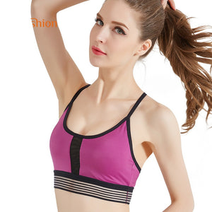 Sexy Women Sports Bra High Stretch Under Bust