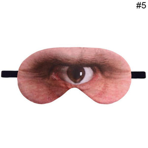 1pcs Cartoon 3D Printing Sleeping Eye Mask Lovely Nap Eye Care Shade Mask Sleep Mask | FajasShapewear.com