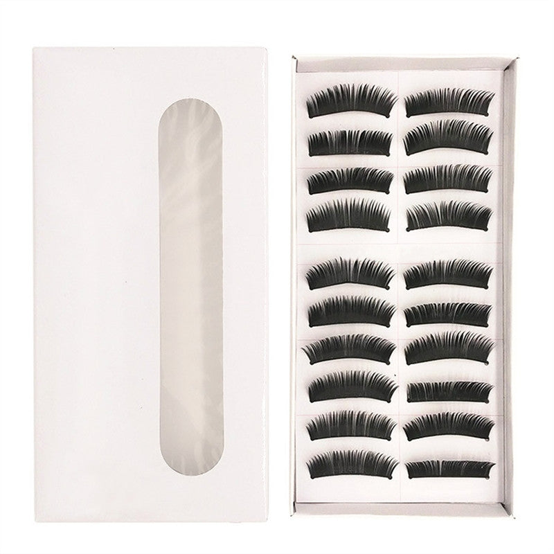 10 Pairs of Fake Eyelashes Long Thick Natural False Eyelashes Set  | FajasShapewear.com