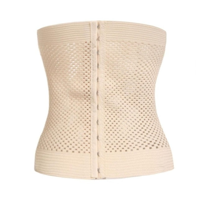 Waist New Solid Underbust Regular Corset Casual Out Belt Body Fashion Shaper Training Hollow Women Cinchers Elastic Shapewear