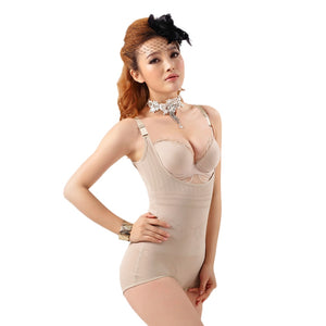 Plus Size body shaper Women Floral Shapewear Adjustable Strap Waist Training Corsets Camisole Slimming Underwear | FajasShapewear.com