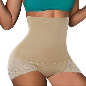 Women Shapers High Waist Tummy Control Panties Shorts Waist Body Shapers Women Seamless Belly Waist Slimming Shorts Shapewear