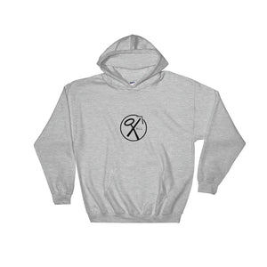 Hooded Pullover Sweatshirt - NLL (Black Print)