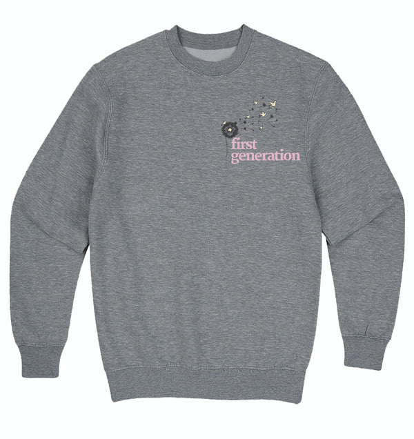 First Generation Embroidered Sweatershirt
