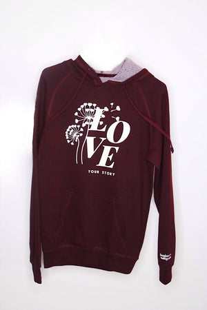 Love Your Story French Terry Hoodie