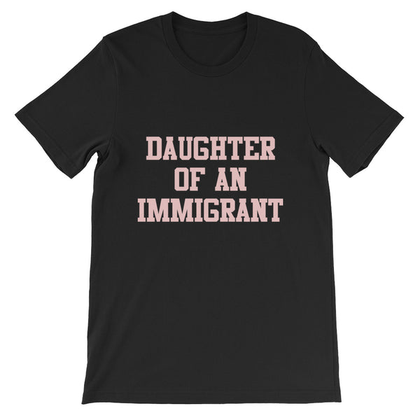 Classic Pink on Black UNISEX  T-Shirt