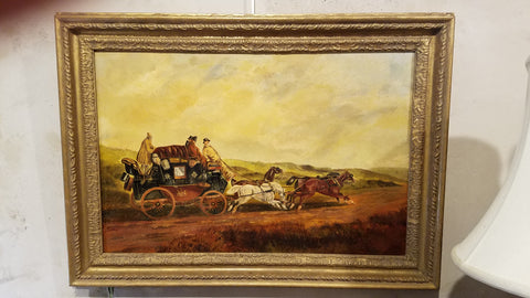 Antique English Oil Painting from Mill House Antiques