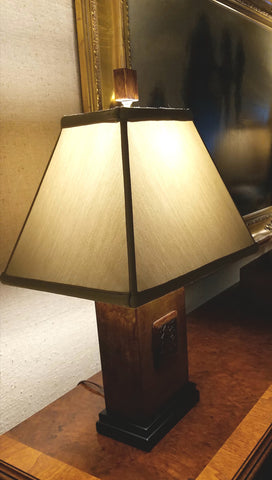 Lamps made of Soapstone from Mill House Antiques