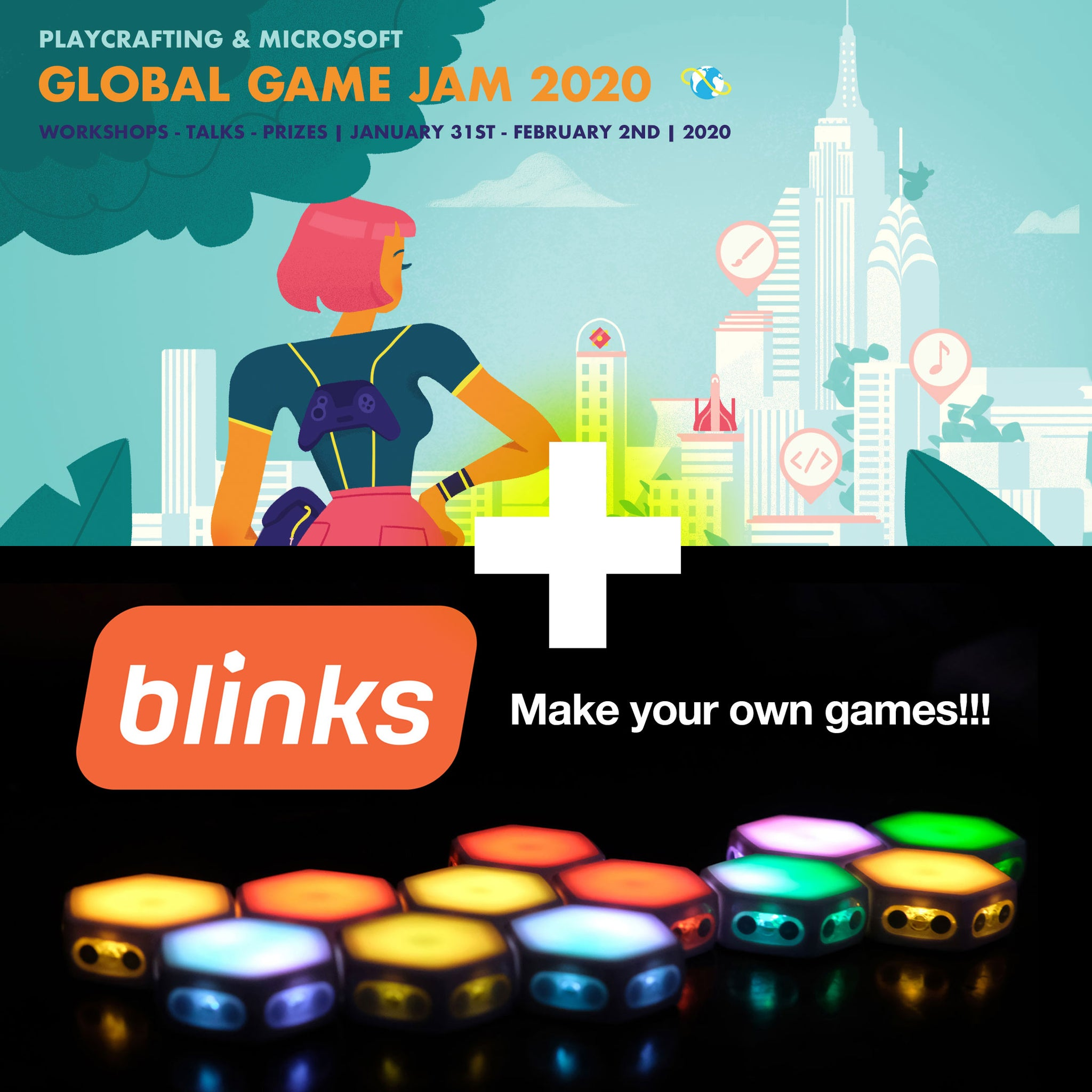 Bringing Blinks to the Global Game Jam