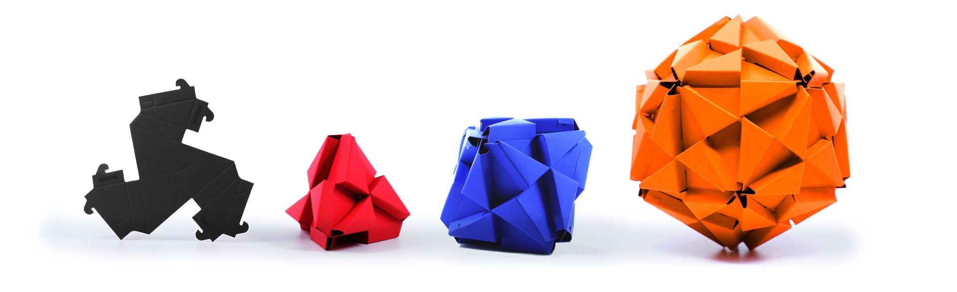 Troxes platonic solids