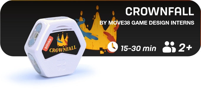 Crownfall is a 15-30 minute game for 2 players