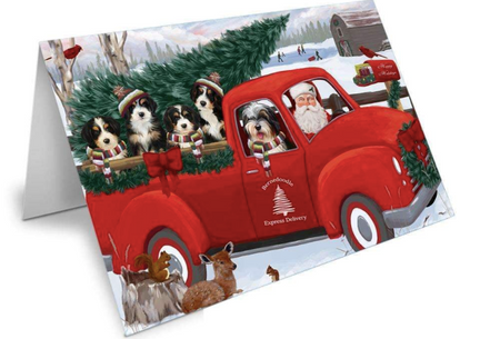 A Smart Way to Make Your Christmas Décor Interesting With Dog Printed Greeting Cards