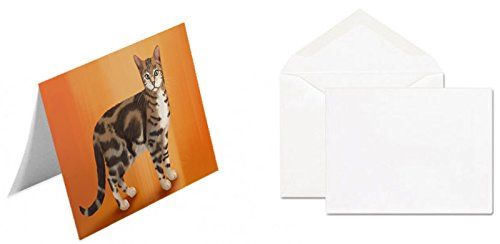 Sokoke Cat Greeting Card